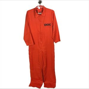 Inmate/Prisoner Orange Jumpsuit Costume